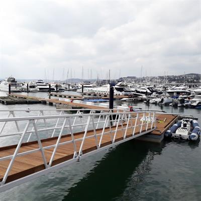 New bridge and pontoons for MDL's Torquay marina