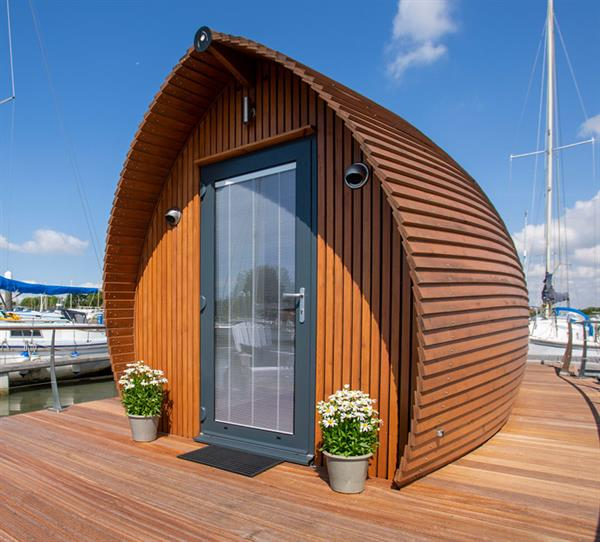 Luxury floating accommodation for overnight visitors